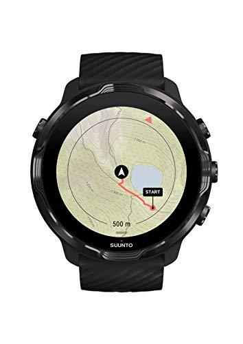 SUUNTO(スント)SUUNTO7ランニング用GPS・アクセサリー/BLACKLIME(スント7ブラックライム)【日本正規品メーカー保証】SS050379000ブラックライム