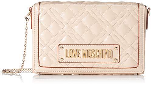 Love Moschino Damen Jc4054pp1a Umhängetasche, Beige (Naturale), 5x13x20 centimeters