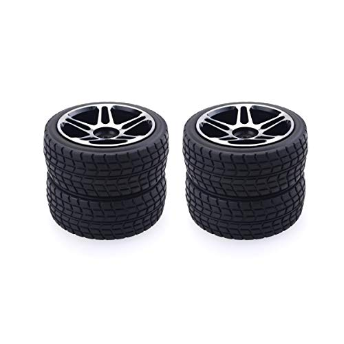 4PCS 1//10 RC Auto Gomme in plastica Ruote in plastica per Redcat HSP HPI Hobbyking Traxxas Losi VRX LRP ZD Racing 1//10 Buggy