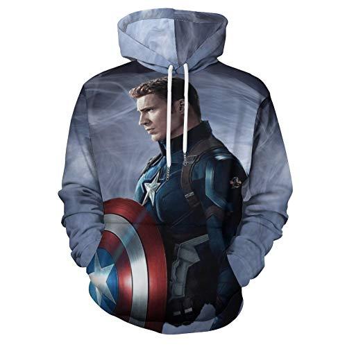 Chris Evans Men's Unisex Hoodies Sweatshirt Pullovers 3D Print Tracksuit