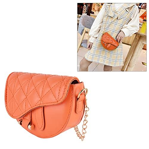 Bolso bandolera, lindo bolso bandolera informal para ir de fiesta, ir de compras para viajar(Orange)