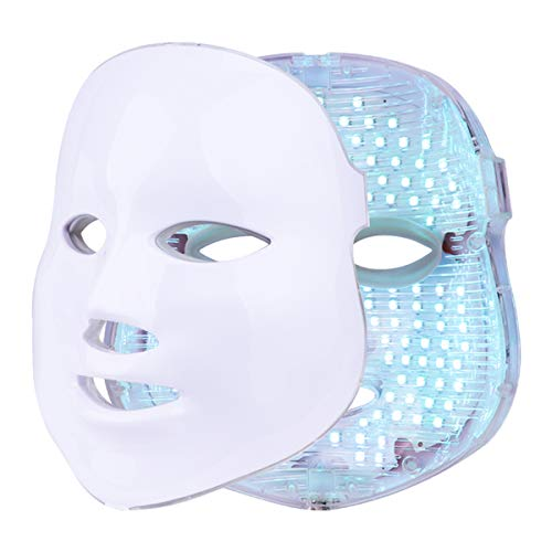 Mascarilla de terapia de luz Terapia de fotones LED de 7