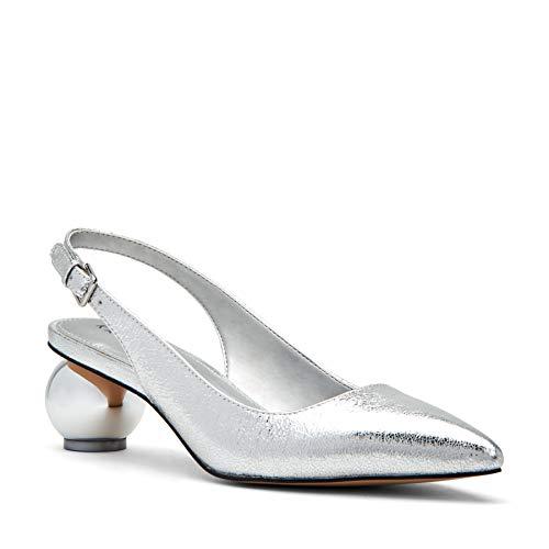 Katy Perry Women's The Andora Pump, Silver, 7.5 M Medium US