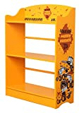 Sky Furniture Childrens JCB Muddy Friends Bookcase for Kids, 80 cm Height x 60 cm Weight x 24cm Depth