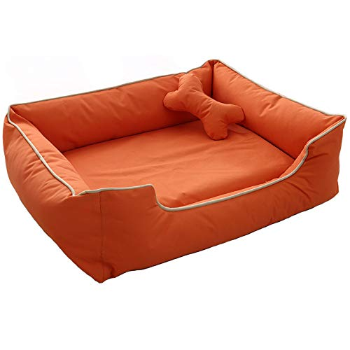 J Large washable dog bed, Oxford fabric, waterproof and non-slip, XL (120x84cm), three colors available