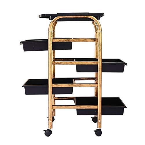 Salon De Coiffure Esthéticienne avec 4 tiroirs Chariot Coiffeur MOBILIER Beauté Esthétique Coiffure Massage Table DE Service a