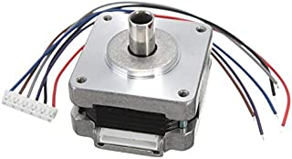 1pc 39MM Hollow Shaft Hybrid Stepper Motor 4 Phase 5 Wire Square 1.8 Degrees Stepper Motor Brand New