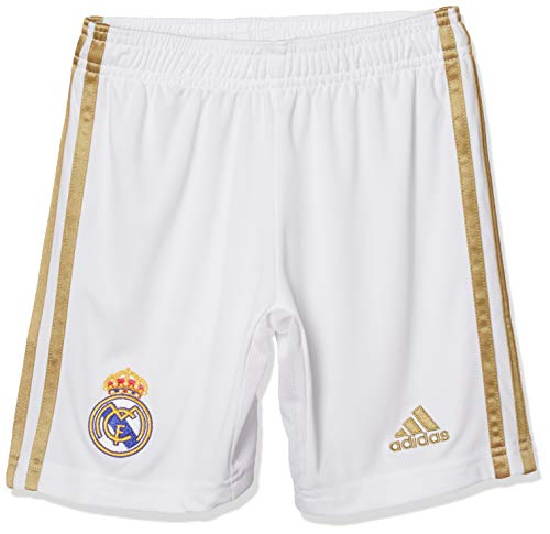 adidas Kinder Real Madrid Shorts Real H SHO Y, White, 152 (11/12 Años), DX8840