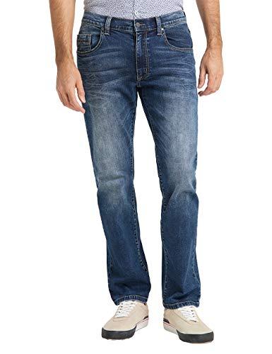 Pioneer Herren Rando MEGAFLEX Straight Jeans, Blau (Dark Used 442), W30/L30 (Herstellergröße: 3030)