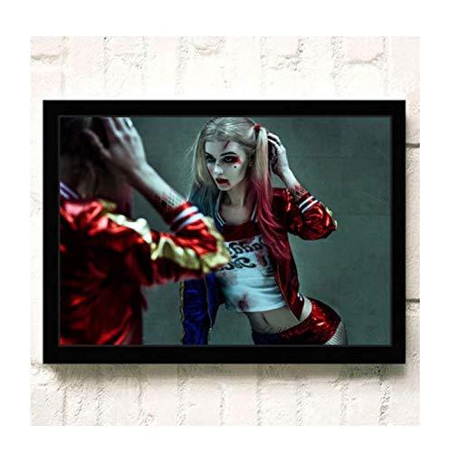 H/E Suicide Squad Poster Canvas Painting Home Decoration Rahmenlos 40X60Cmy2364