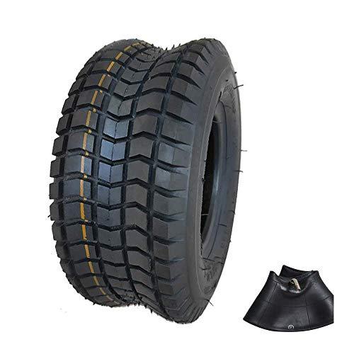Neumáticos para Scooter eléctrico, neumáticos internos y externos Antideslizantes 9X3.50-4, Banda de Rodadura ensanchada Resistente al Desgaste, adecuados para Accesorios de neumáticos de Scooter pa
