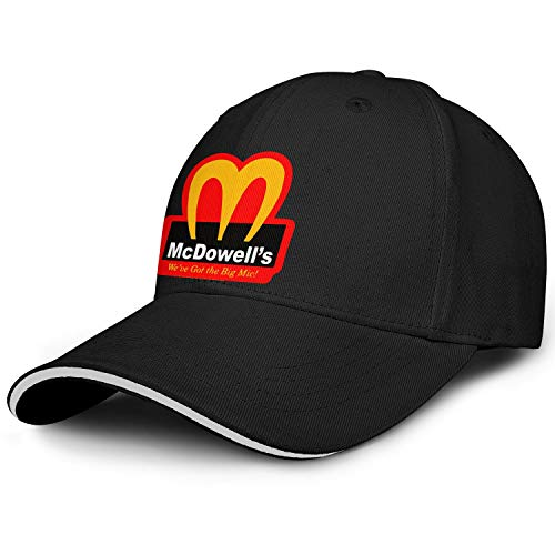 2021-Coming-To-America-Movie-McDowell's- Men Scarecrow Low-Key Cap ColorName Shading Hat