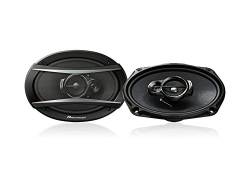 Pioneer TS-A6966 A Series 6' X 9' 420 Watts Max 3-Way Car Speakers Pair with Carbon and Mica Reinforced Injection Molded Polypropylene (IMPP) Cone Construction