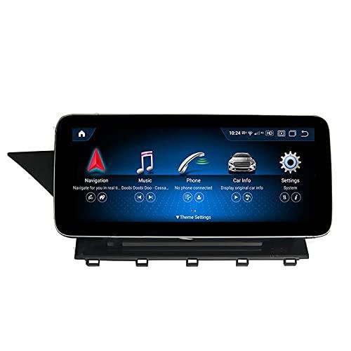 Android 11 Car Auto Radio Estéreo Reproductor de DVD Navegación GPS Sistema Multimedia Pantalla Vertical Android para GLK 2010 11 12,4+64G