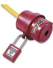 Masterlock S487 M/Lock - Cubierta para enchufe eléctrico pequeño