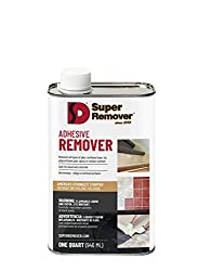 commercial Adhesive Remover (Quart – 32oz) Super Remover – For All Adhesives adhesive removers