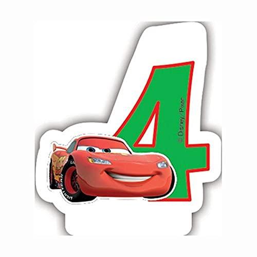 Pixar Bougie Chiffre, 82888, Vert
