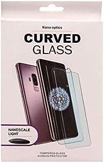 شاشة حماية نانو زجاجية منحنية بالكامل لموبايل سامسونج جالاكسي S10، شفافة
