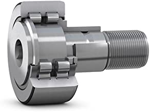SKF NUKRE 40 A - Crowned Cam Follower - 40 mm Roller Dia, 20 mm Roller Width, 22 mm Stud Dia, 33.5 mm Stud Length