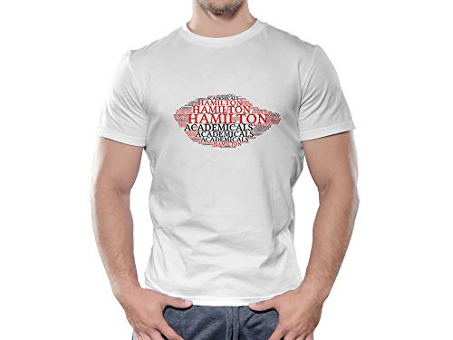 Hamilton Academical FC Novelty Football Cloud T Shirt, (Age 12-13)