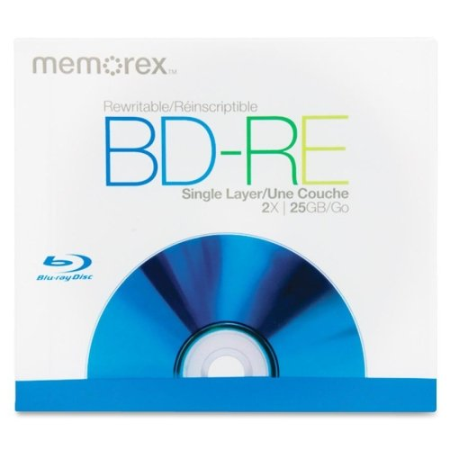 Memorex 2X BD-RE Media 05502