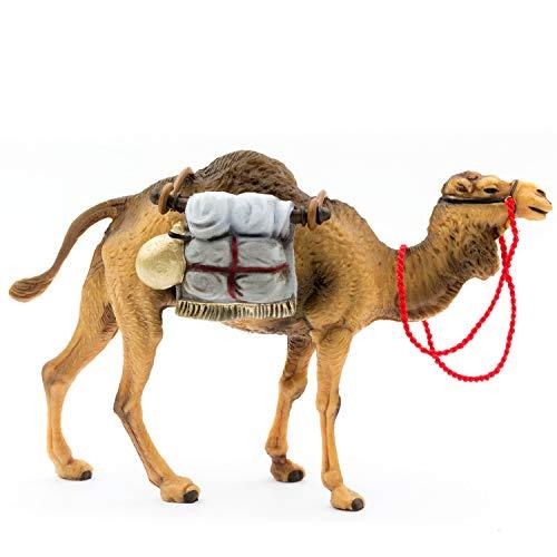 MAROLIN Kamel stehend mit Gepäck, zu 12cm Fig. (Kunststoff)