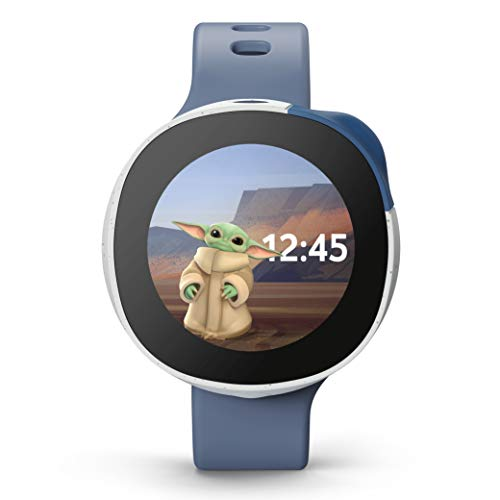 Neo, die Smart Kids Watch mit Disney Motiven, Anrufen, Chats, Kamera, GPS-Standort und Aktivitäts-Tracker, personalisierbar mit Disney Charakteren, 24 Monate Vodafone Smart SIM Abo inklusive, Ocean