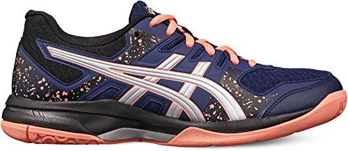 ASICS Damen Gel-Flare 7 Volleyball-Schuh, Blue Expanse/Silver