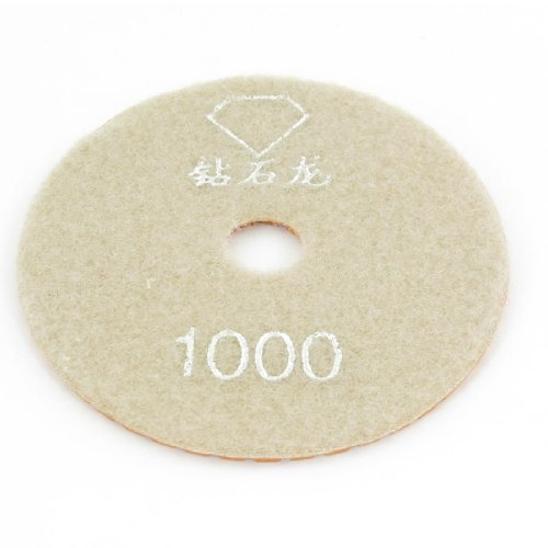 Sourcingmap a13090500ux1093 9,9 cm diameter 1000 korrel tegels stenen polijstmachine diamant polijstpad