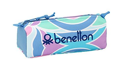"""Benetton """"Arcobaleno"""" Oficial Estuche Escolar 210x70x80mm"""