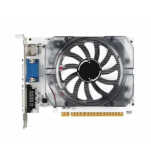 RTYU Fit for MSI Gaming Geforce GT 710 N730 2GD3 V3 2GB GDRR3 HDCP Soporte Directx 12 Opengl 4.5 Tarjeta gráfica de Perfil...