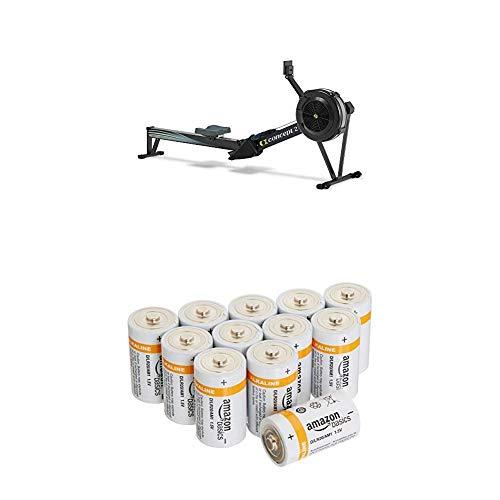 Rudergerät Concept2 Indoor Rower 2711 mit Amazon Basics Batterien