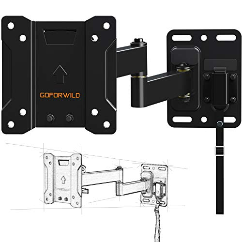 Best Review Of RV TV Mount for Camper Full Motion Lockable TV Wall Mount for 10-26 Inch LED LCD OLED...