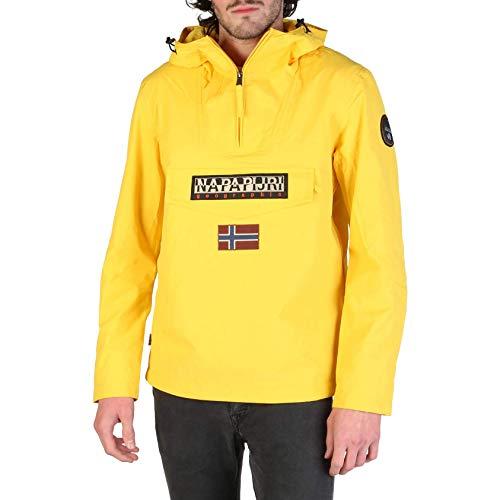 Napapijri Rainforest M Sum 1 Freesia Yellow Chaqueta, Amarillo Ya7, Large para Hombre