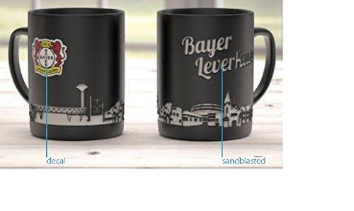 Bayer 04 Leverksen Kaffeetasse, Tasse, Becher, 0,3l Skyline