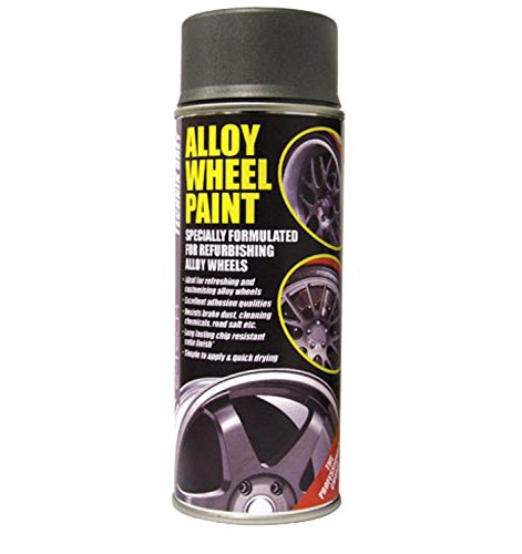 Auto Inpart–Pintura Resistente e-Tech para Llantas de aleación de Color Gris technik Antracita