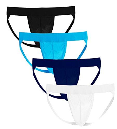 Summer Code Mens Jockstrap Sexy Jock Strap Underwear Athletic Supporter for Men