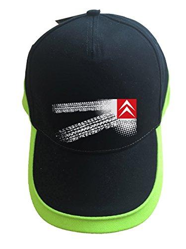molda18 Citroen Auto Logo Baseball Cap Mütze- K071-SW-Grun