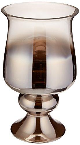 Howard Elliott Große Glasvase, Rauchgrau kleine Vase Small Rauchglas