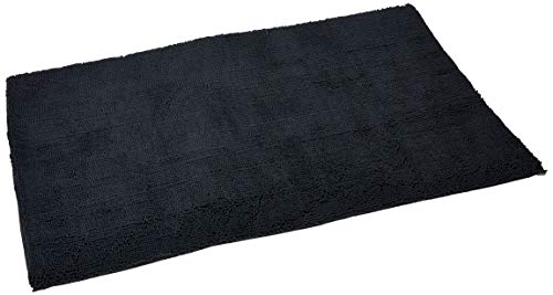 My Doggy Place - Ultra Absorbent Microfiber Dog Door Mat, Durable, Quick Drying, Washable, Prevent Mud Dirt, Keep Your House Clean (Charcoal, Runner) - 60 x 36 Inch