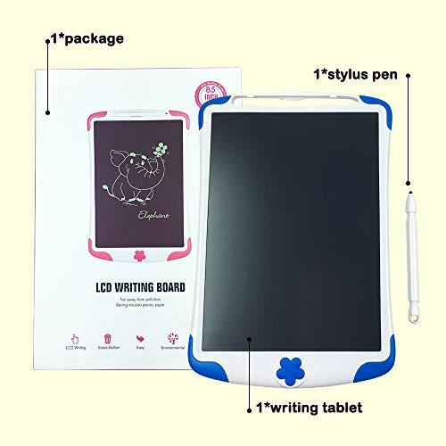 Tableta de Escritura LCD, Tablero de Pintura y Escritura Electrónico de 8.5 Pulgadas, Tablero de Dibujo con Almohadilla de Garabato como Regalo para Niños y Adultos en Casa, Escuela y Oficina