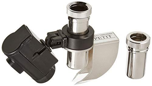 TSK とげ抜き用ルーペ 倍率7倍・15倍 レンズ径10mm LEDライト付き 日本製 ST-715LED