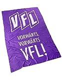 Hissfahne Vorwärts Vorwärts VFL 300 x 150 cm