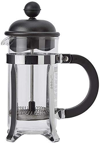 Bodum - 1913-01 - Caffettiera - Cafetière à Piston - 3 Tasses - 0,35 L - Noir