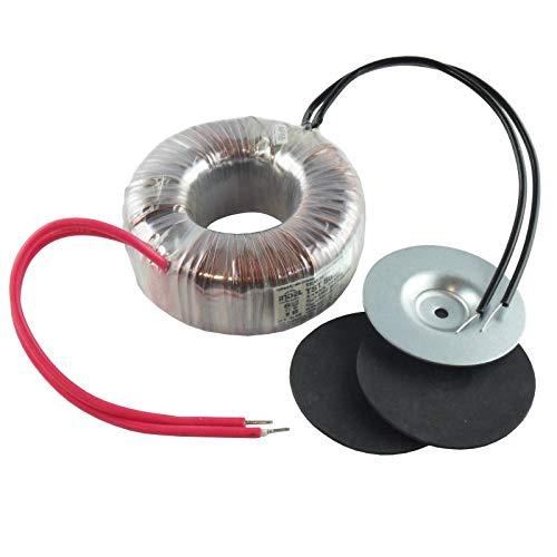 WITTKOWARE Ringkerntransformator, 100VA, 230V zu 12V, 8,33A, 97x40mm