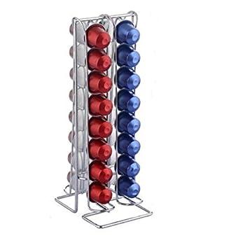 thesecrethome.es Soporte DISPENSADOR para 36 C/ÁPSULAS Metal 15,5X10,5X37,5 cm