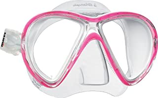Mares Mask X-VU Liquid Skin Diving Googles - White/WH, Size BX BXWPKWH by Mares
