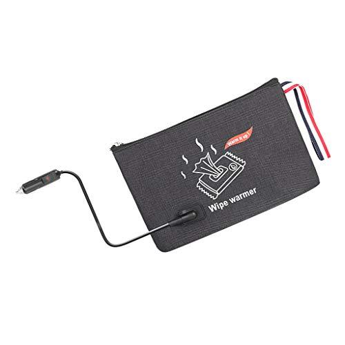 sharprepublic Toallitas Portátiles para Bebés Calentador Automático para Automóvil Bolsa Servilleta Termostato Calentador de Calefacción