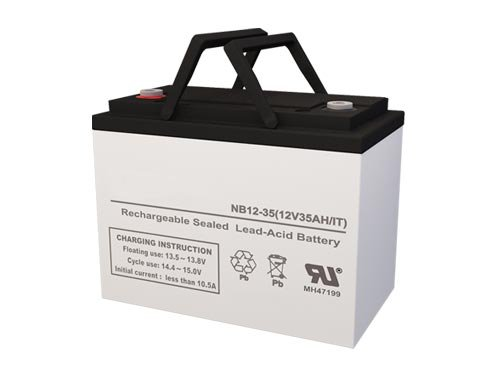 UB12350 (D5722) 12 Volt 35 AmpH SLA Replacement Battery with IT Terminal