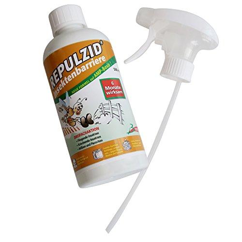 Bactenet Repulzid Insekten-Barriere 500ml, Universal-Spray Insekten-Schutz gegen Ungeziefer mit Langzeitwirkung für Gewerbe und Privat